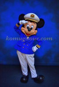 ディズニークルーズ キャプテンミッキー
