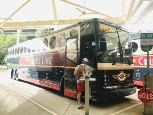 ディズニークルーズ バス