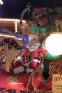 WDWクリスマス パレード サンタ