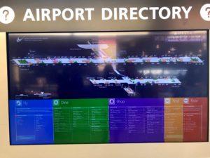 デトロイト空港 乗継