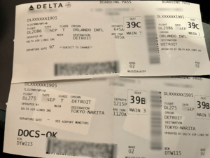 デルタ航空 チケット
