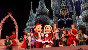 WDWクリスマス キャッスルショー