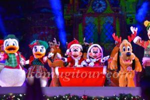 WDWクリスマス ベリメリ ショー