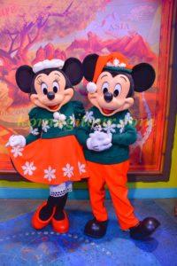 アニマルキングダム ミッキー&ミニー クリスマス