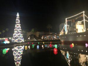 ハリウッドスタジオ クリスマス