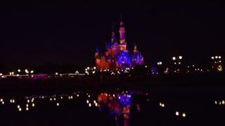 上海ディズニー 夜景