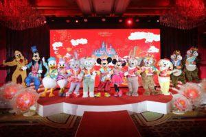 上海ディズニー 旧正月