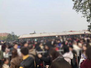 上海ディズニー 入場
