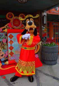 上海ディズニー グーフィー 旧正月2020年
