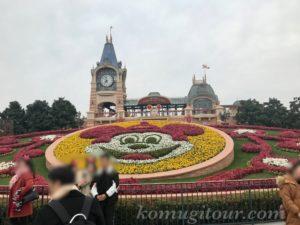 上海ディズニー エントランス
