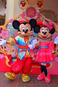 上海ディズニー 旧正月2020 グリーティング