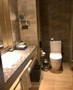 ノボテル上海クローバー トイレ